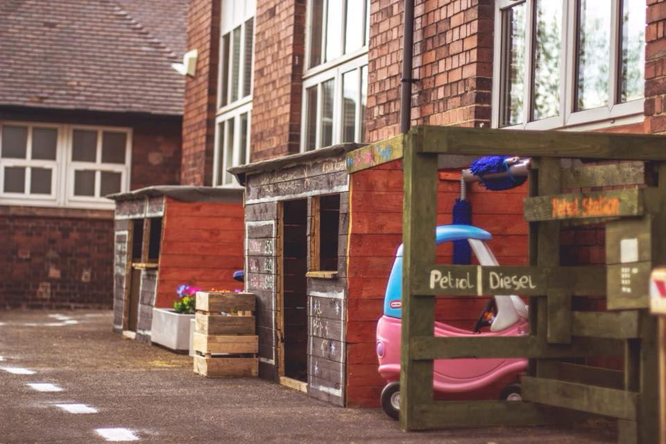 One of Stoke-on-Trents only nurseries with a sensory room